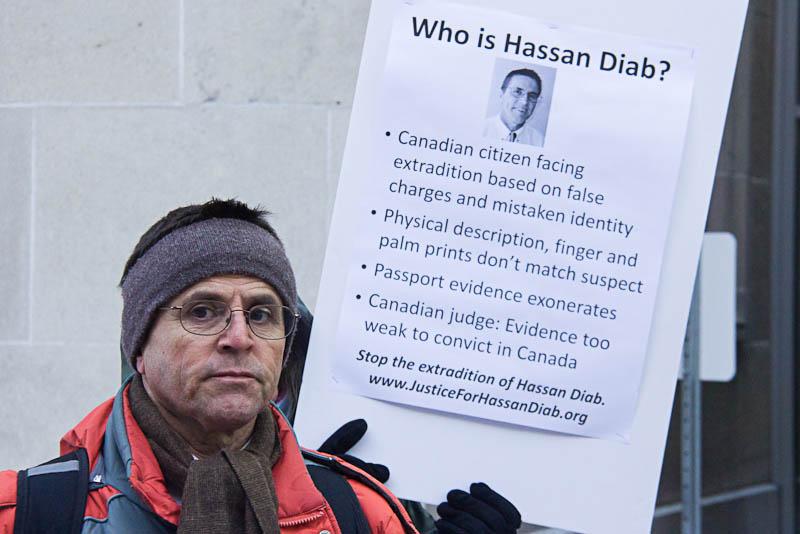 Former Carleton professor Hassan Diab. (File)